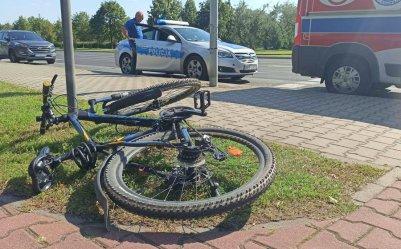 Potrącił nastoletniego rowerzystę i uciekł. Policja szuka sprawcy