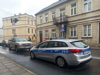 Potrącenie pieszej w okolicach Stronczyńskiego