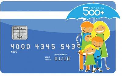500+ na kartę płatniczą ?