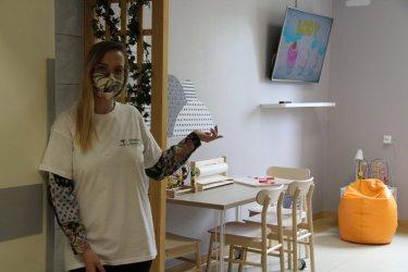 Strefa Rodzica w Powiatowym Centrum Matki i Dziecka już otwarta