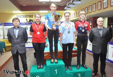 Trzy medale dla Anity Sochackiej