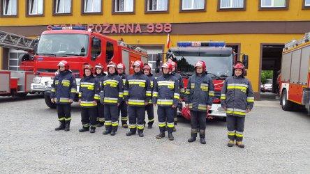 Strażacy świętowali w Piotrkowie