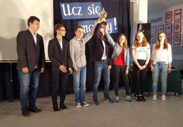 Kolejny matematyczny sukces uczniów Gimnazjum nr 5 w Piotrkowie Trybunalskim