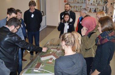Niemieccy studenci zdobywali wiedzę w piotrkowskim Areszcie