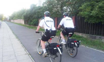 Na rowerach patrolują miasto