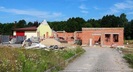 Trwa rozbudowa i przebudowa Domu Ludowego w Blizinie