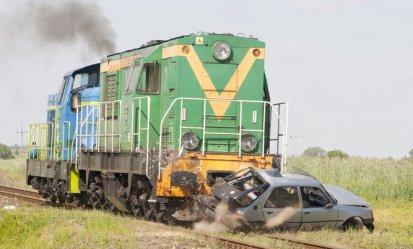 Przeprowadzili symulację wypadku kolejowego