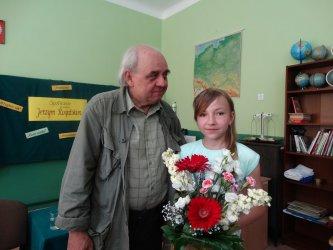 Jerzy Rogalski gościł w Moszczenicy