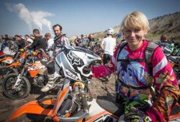 Pierwszy dzień motocyklowych zmagań w kopalni za nami