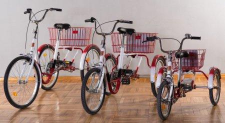 W piotrkowskiej Szansie mają wypożyczalnię rowerków rehabilitacyjnych