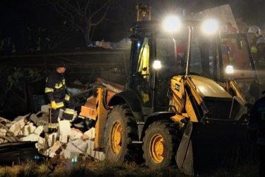 Wybuch gazu we Włodzimierzowie. Akcja ratunkowa zakończona - kobieta nie żyje (Aktualizacja)