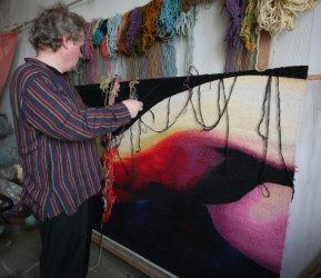 Wystawa piotrkowianina w Luwrze