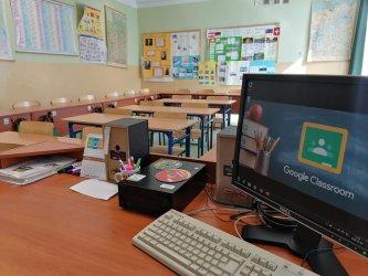 Zdalne nauczanie w piotrkowskich szkołach