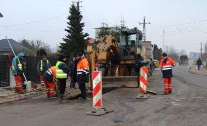 Budowa kanalizacji w gm. Wola Krzysztoporska. Pierwsze odbiory robót budowlanych
