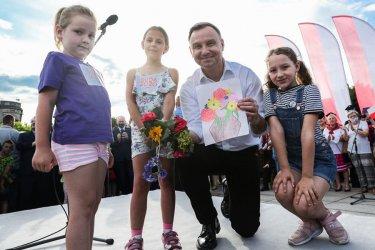 Andrzej Duda odwiedził Opoczno i Tomaszów