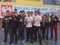 Dobry występ piotrkowskich kickboxerów na Mistrzostwach Polski