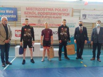 Medale młodzików AKS w Gomulinie