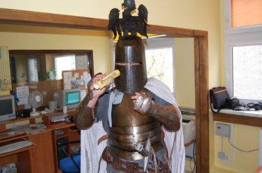 Na obchody bitwy pod Grunwaldem zaprosił rycerz
