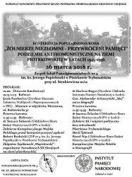 Konferencja historyczna w Piotrkowie