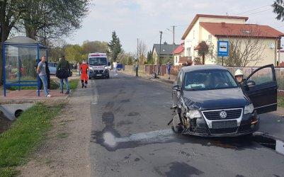 Zderzenie dwóch aut w Sobakowie