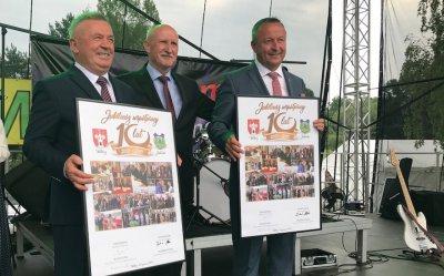 10 lat współpracy z Jabłonką