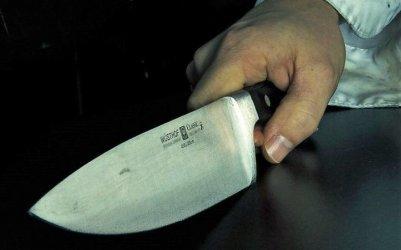 Zaatakował nożem policjanta i został postrzelony
