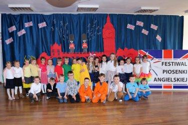 13 piotrkowskich przedszkoli wzięło udział w Festiwalu Piosenki Angielskiej