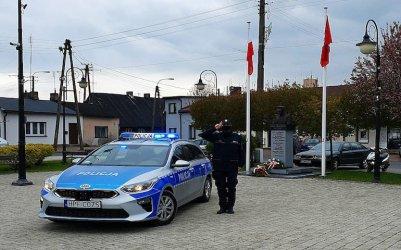 Policja oddała hołd zastrzelonemu funkcjonariuszowi z Raciborza