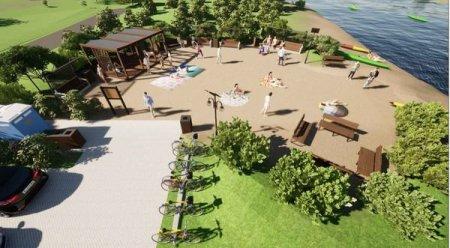 W Sulejowie rozbudują plażę za wojewódzkie pieniądze