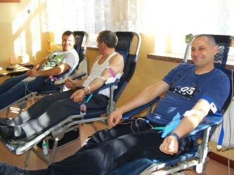 11 osób oddało krew