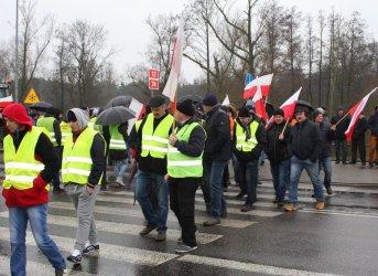 Rolnicy znów chcą zablokować drogę