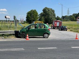 Wypadek w Milejowie