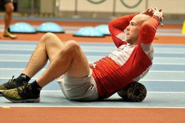 Mateusz Bernatek na ostatniej prostej przed mistrzostwami świata