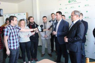 Wojewódzki PSL zwraca uwagę na trudną sytuację rolników