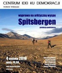 Opowiedzą o wyprawie na Spitsbergen