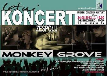 MOK: Koncert zespołu Monkey Grove