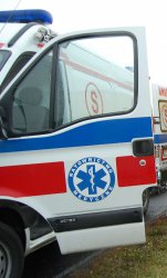 Kurnędz: Wypadek z udziałem policjanta