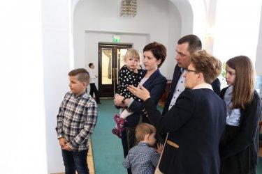 Wizyta u wicemarszałek Radziszewskiej