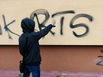 Pseudograffiti zmorą Piotrkowa
