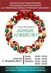 I Piotrkowski Jarmark Adwentowy