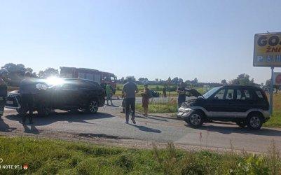 Nie ustąpiła pierwszeństwa i spowodowała wypadek z udziałem trzech aut