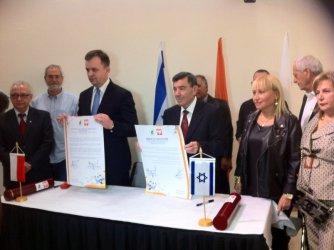 Prezydent Chojniak z wizytą w Izraelu