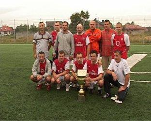 Puchar Lata: Barwil-Omega z pucharem