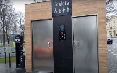 Publiczna toaleta nie działała. Usterka została naprawiona