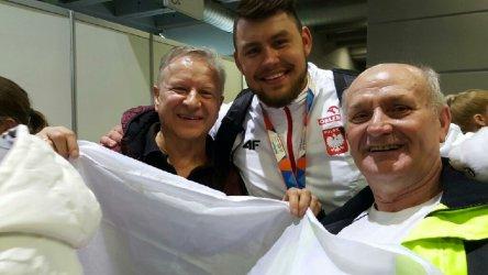 Piotrkowianie dopingowali polskich mistrzów w Belgradzie