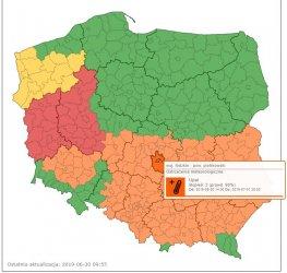 Niebezpieczne upały ponownie w naszym regionie