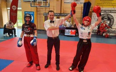 Brązowy medal mistrzostw Polski dla piotrkowskiej kickboxerki