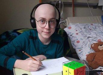 Patryk walczy z nowotworem. Przekaż 1% podatku