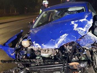 Wypadki na drogach miasta i powiatu. PSP apeluje o ostrożność!