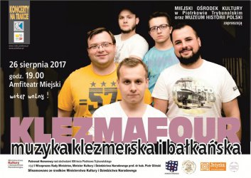 Muzyka klezmerska i bałkańska zabrzmi w amfiteatrze